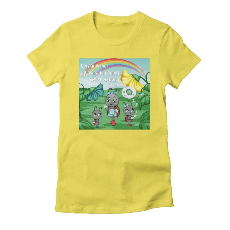 Stay at home Women's T-Shirt by BubaMara's Artist Shop
