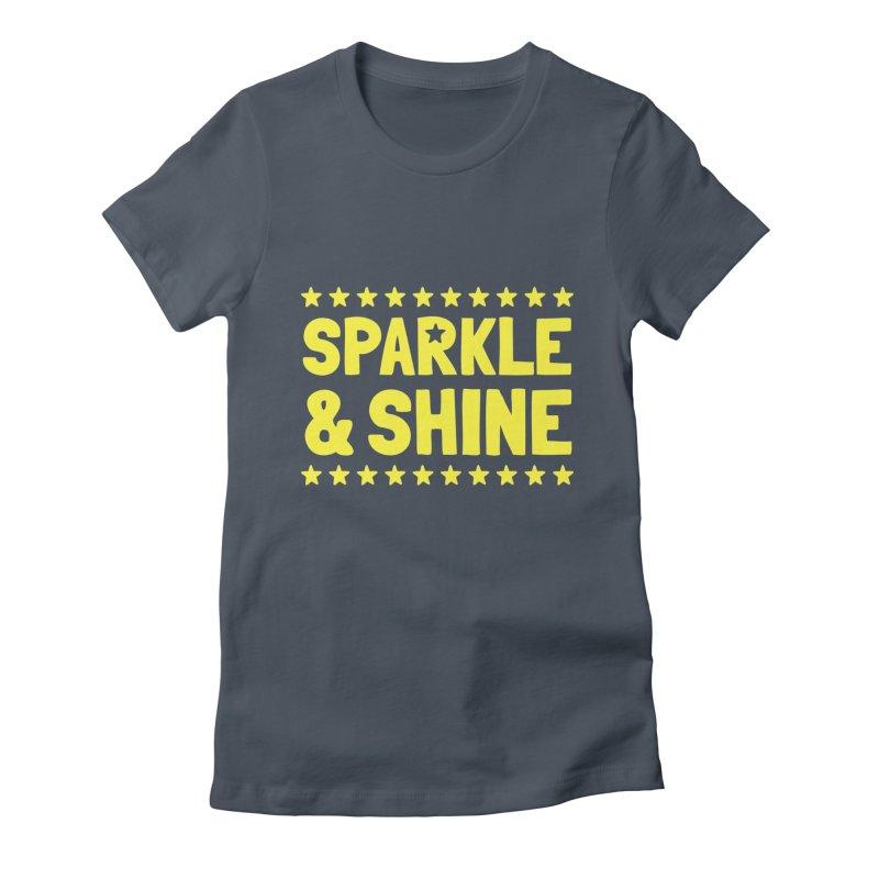 Sparkle and Shine Women's T-Shirt by BubaMara's Artist Shop