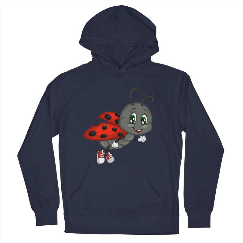 Ladybug Women's French Terry Pullover Hoody by BubaMara's Artist Shop