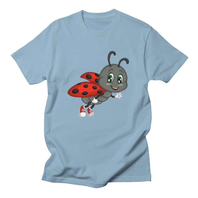 Ladybug Women's Regular Unisex T-Shirt by BubaMara's Artist Shop