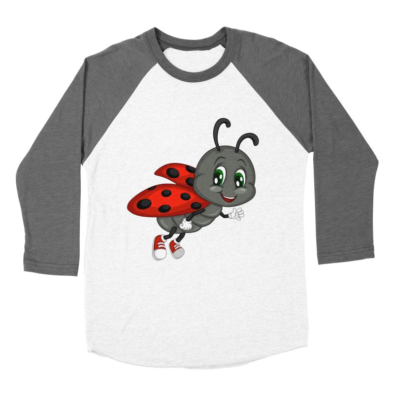 Ladybug Women's Longsleeve T-Shirt by BubaMara's Artist Shop
