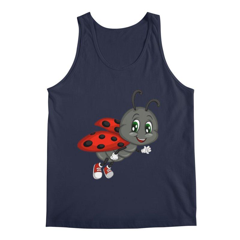 Ladybug Men's Regular Tank by BubaMara's Artist Shop