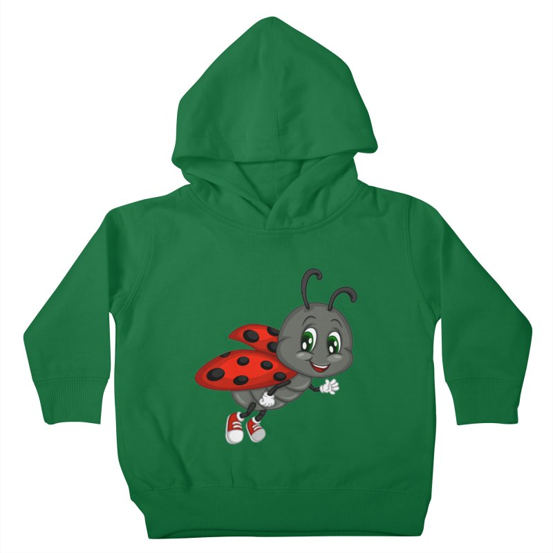 Ladybug Kids Toddler Pullover Hoody by BubaMara's Artist Shop