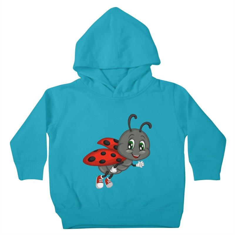 Ladybug Kids Toddler Pullover Hoody by BubaMara's Artist Shop