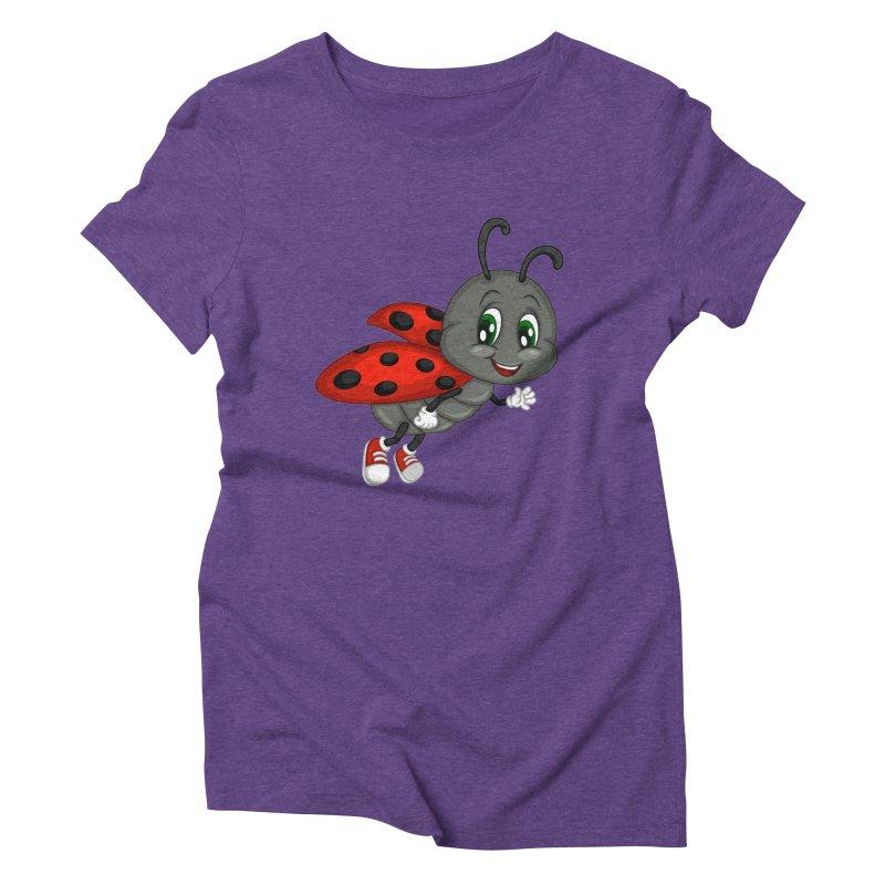 Ladybug Women's Triblend T-Shirt by BubaMara's Artist Shop