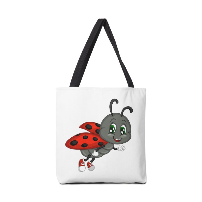 Ladybug Accessories Tote Bag Bag by BubaMara's Artist Shop