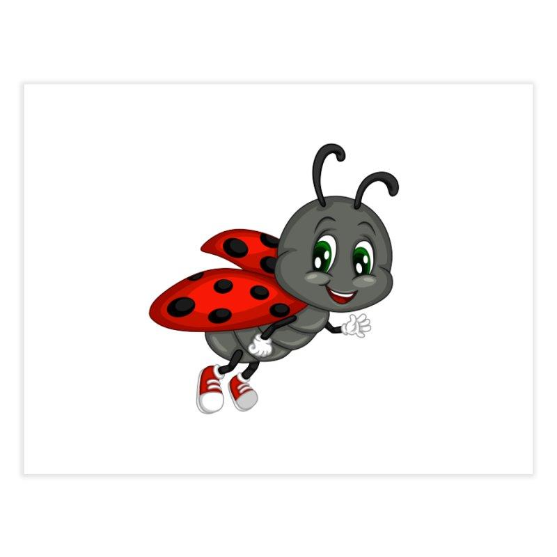 Ladybug Home Fine Art Print by BubaMara's Artist Shop