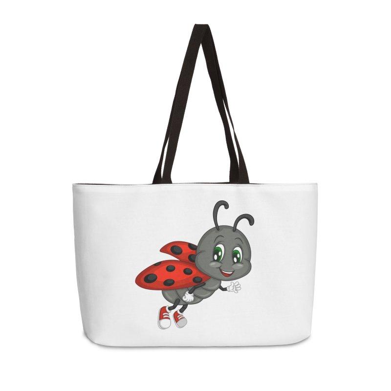 Ladybug Accessories Weekender Bag Bag by BubaMara's Artist Shop