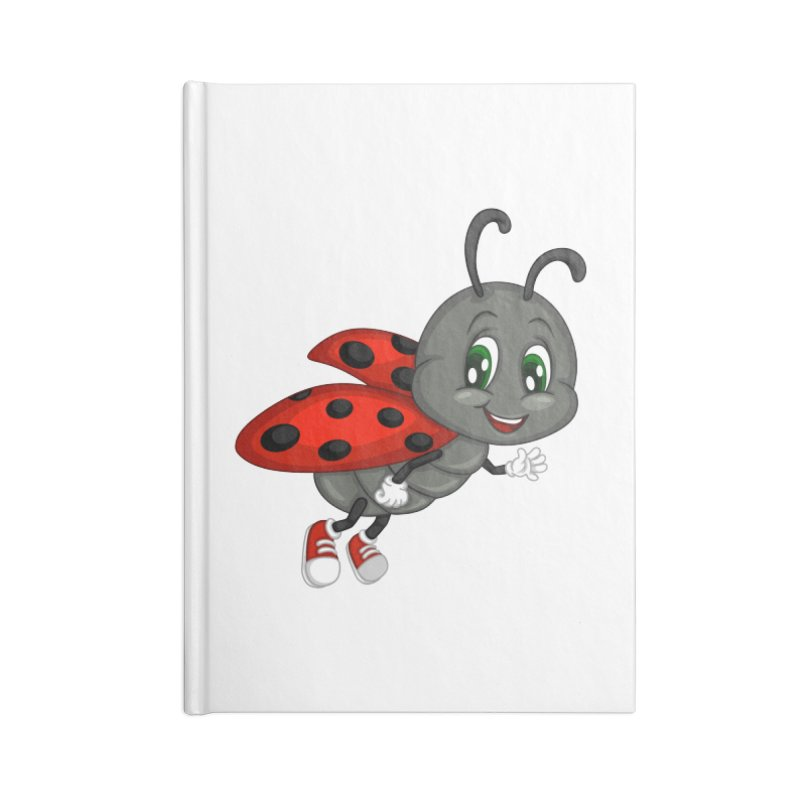 Ladybug Accessories Lined Journal Notebook by BubaMara's Artist Shop