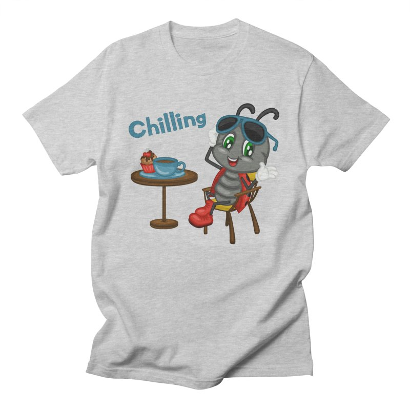 Ladybug Chilling Women's Regular Unisex T-Shirt by BubaMara's Artist Shop