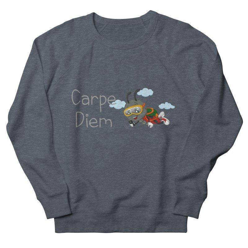Ladybug Carpe Diem Women's French Terry Sweatshirt by BubaMara's Artist Shop