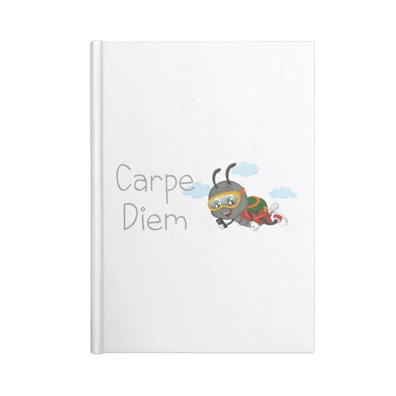 Ladybug Carpe Diem Accessories Blank Journal Notebook by BubaMara's Artist Shop