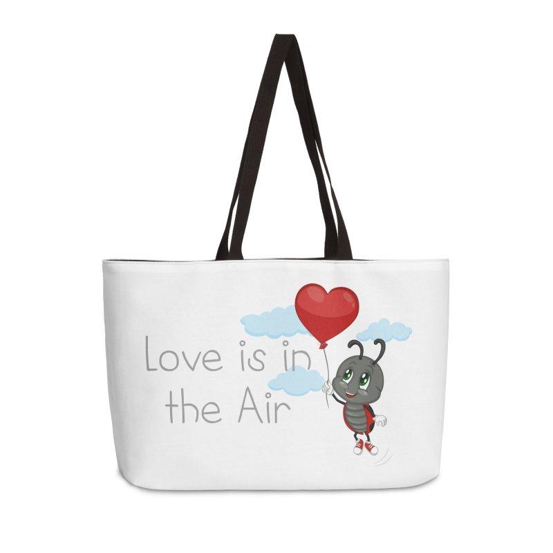 Ladybug Love is in the Air Accessories Weekender Bag Bag by BubaMara's Artist Shop