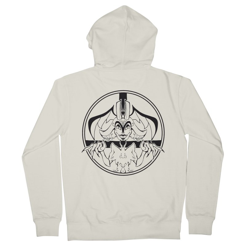 She Devil Women's French Terry Zip-Up Hoody by Lady Katie Sue