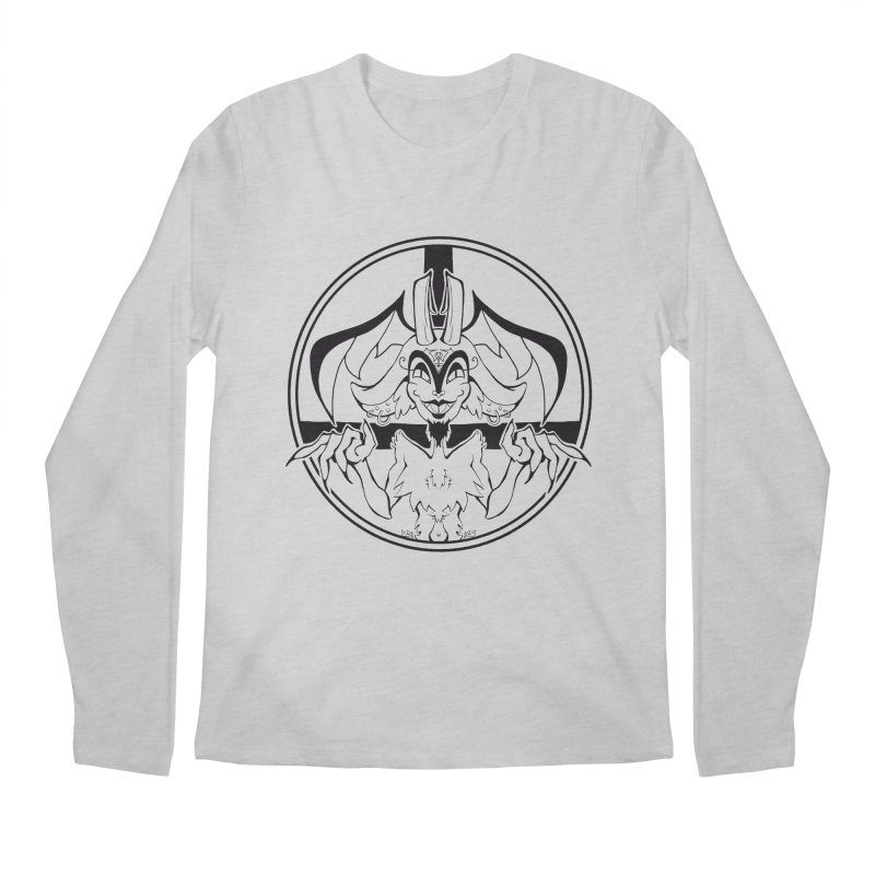 She Devil Men's Longsleeve T-Shirt by Lady Katie Sue