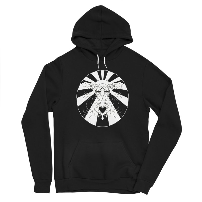 Crybaby Men's Pullover Hoody by Lady Katie Sue