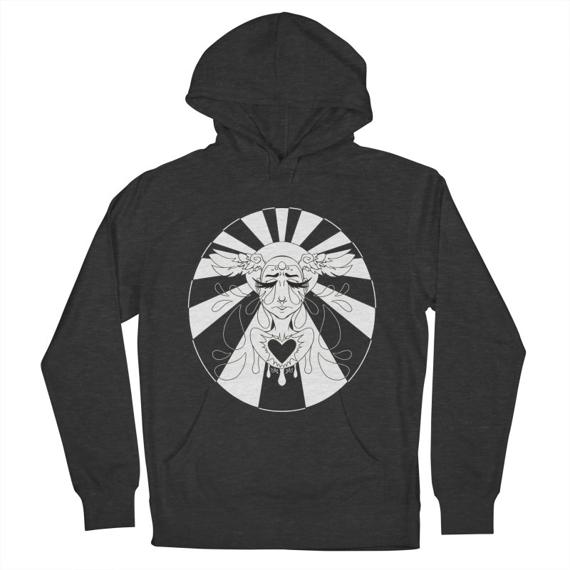 Crybaby Men's French Terry Pullover Hoody by Lady Katie Sue