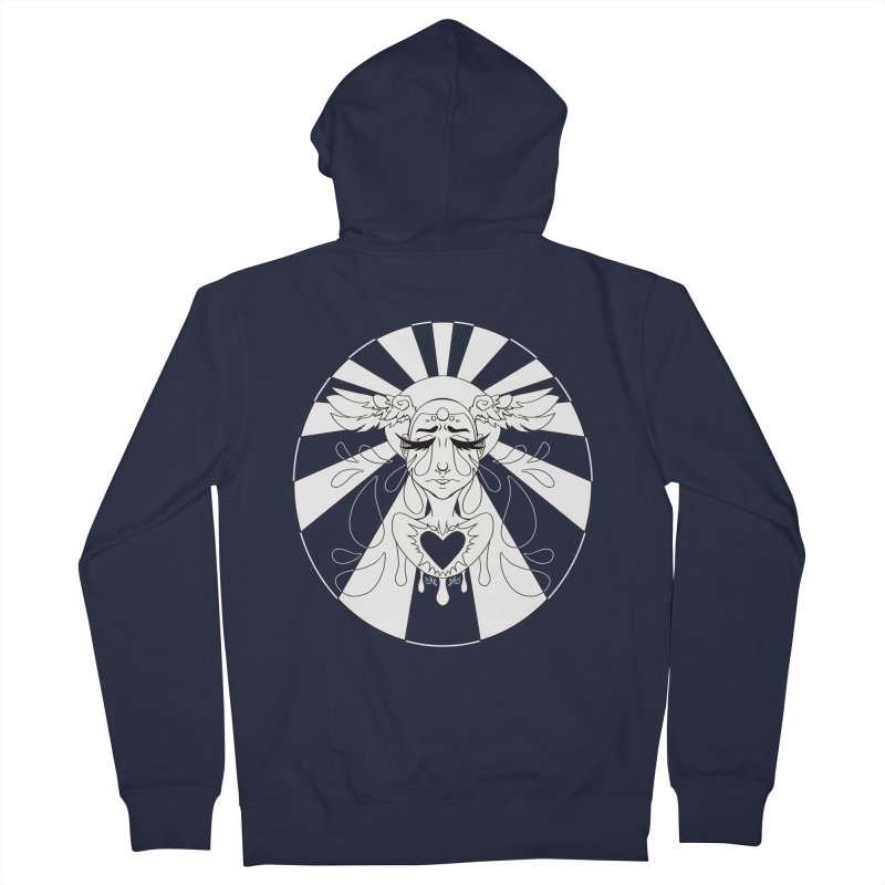 Crybaby Women's Zip-Up Hoody by Lady Katie Sue
