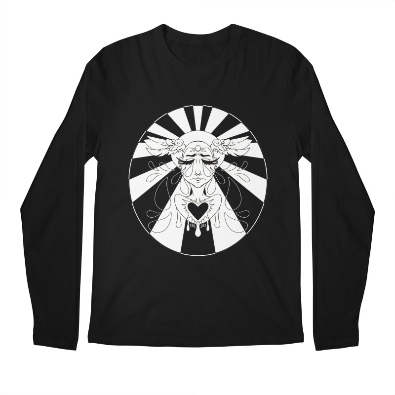 Crybaby Men's Regular Longsleeve T-Shirt by Lady Katie Sue