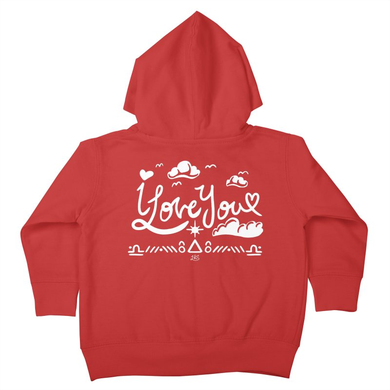 I Love You Kids Toddler Zip-Up Hoody by Lady Katie Sue