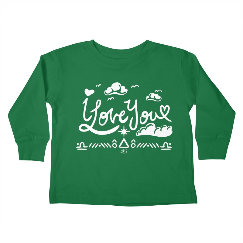 I Love You Kids Toddler Longsleeve T-Shirt by Lady Katie Sue