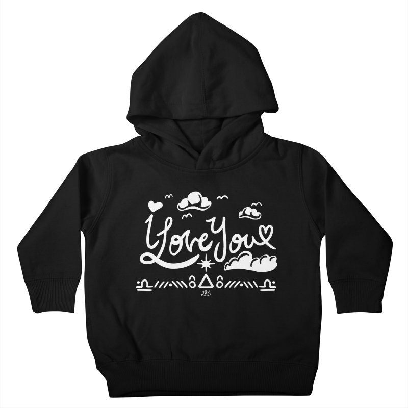 I Love You Kids Toddler Pullover Hoody by Lady Katie Sue