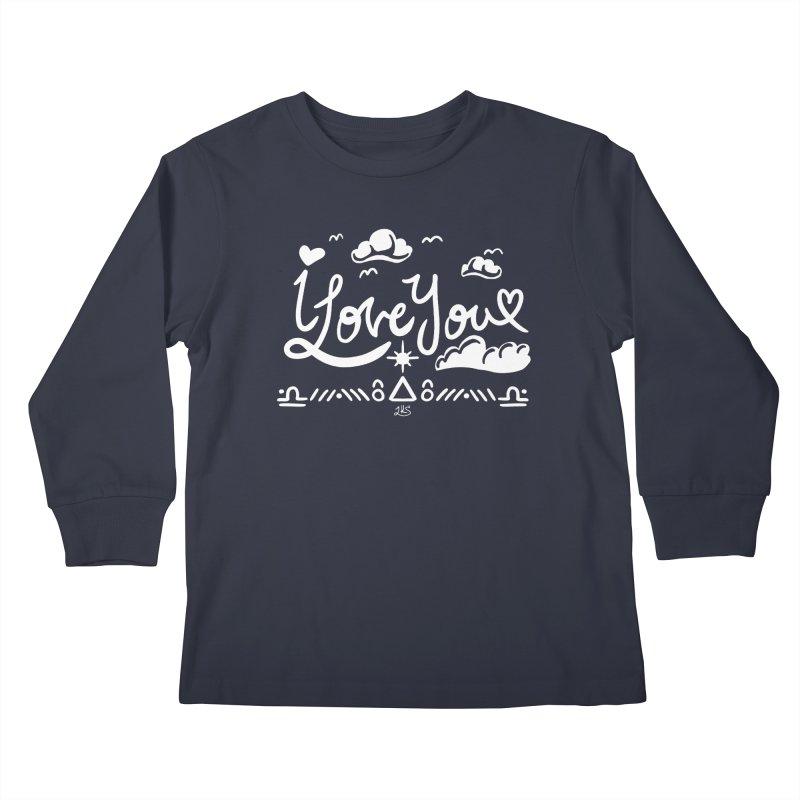 I Love You Kids Longsleeve T-Shirt by Lady Katie Sue