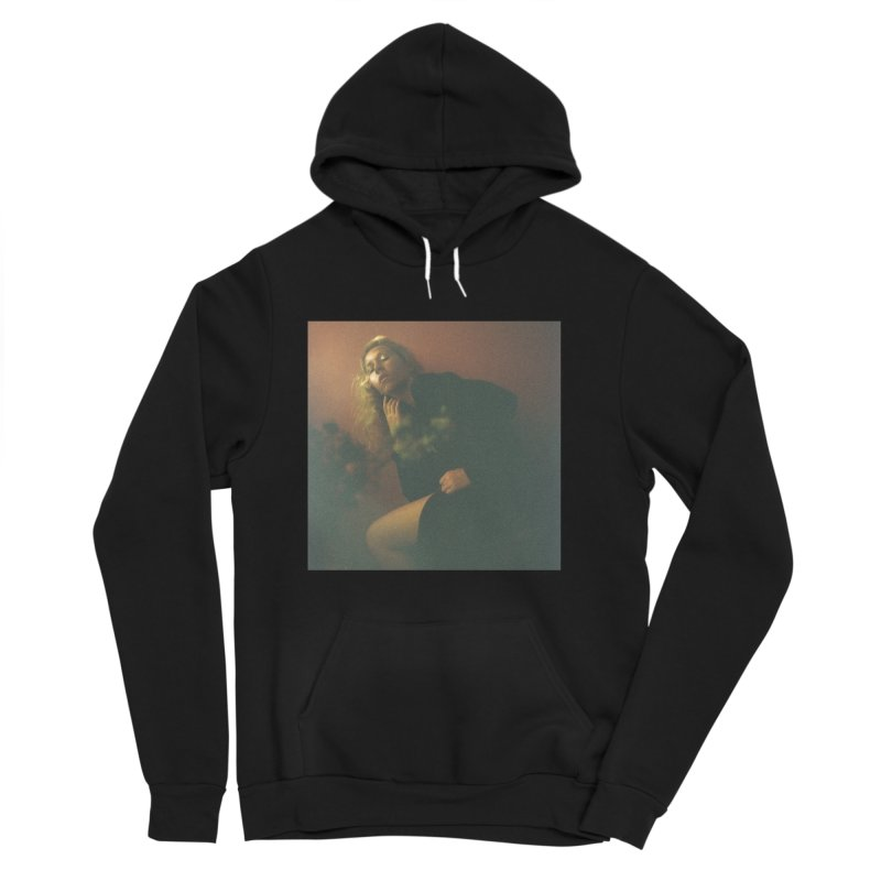 Lady Lazarus with Dying Roses Women's Sponge Fleece Pullover Hoody by LADY LAZARUS (OFFICIAL MERCH SHOP)