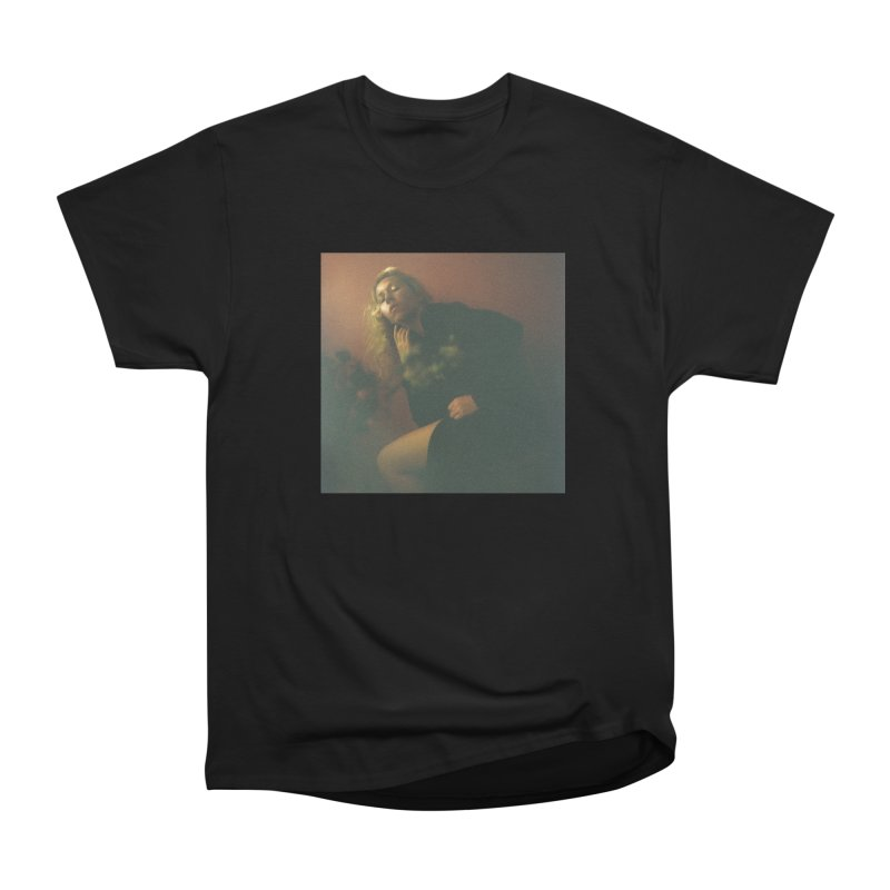 Lady Lazarus with Dying Roses Men's Heavyweight T-Shirt by LADY LAZARUS (OFFICIAL MERCH SHOP)