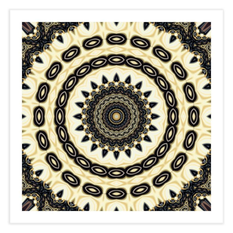 Ring of Lights 1 Home Fine Art Print by Lady Ls Designs Artist Shop