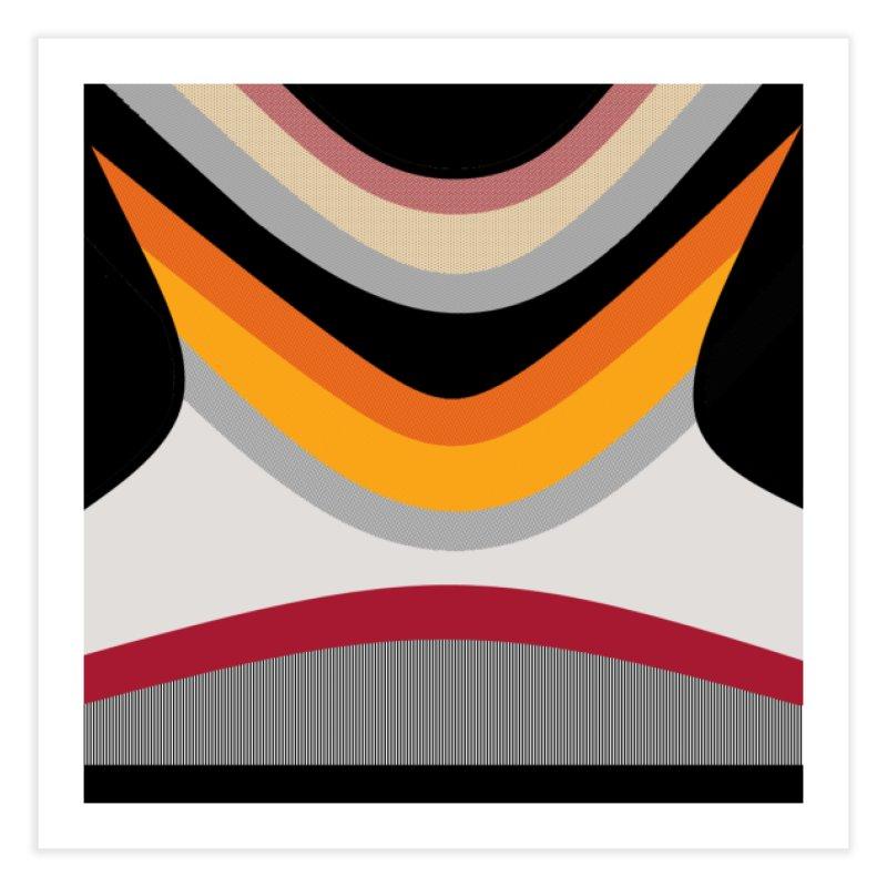 60's Wave Home Fine Art Print by Lady Ls Designs Artist Shop