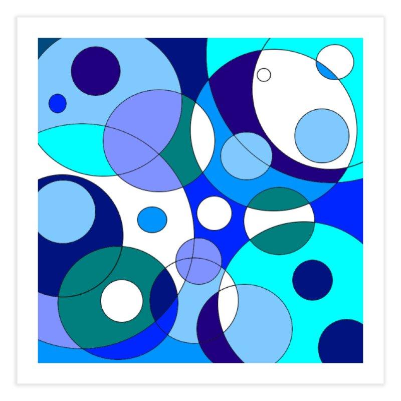Blue Aint Your Color Home Fine Art Print by Lady Ls Designs Artist Shop