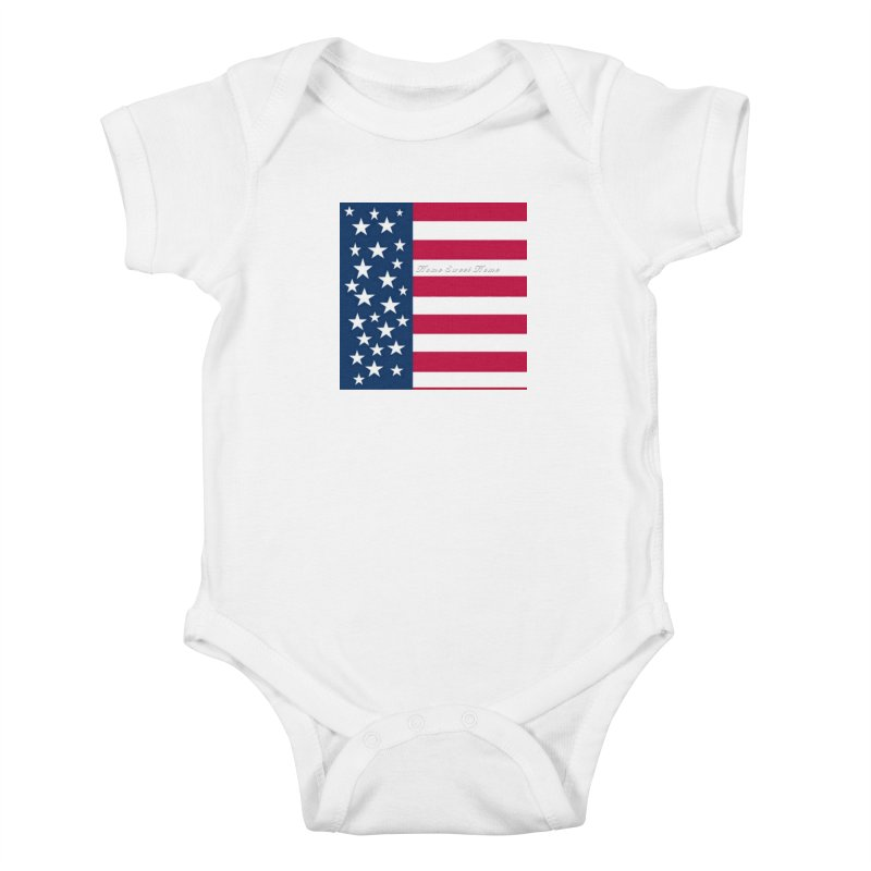 Home Sweet Home Kids Baby Bodysuit by Lady Ls Designs Artist Shop