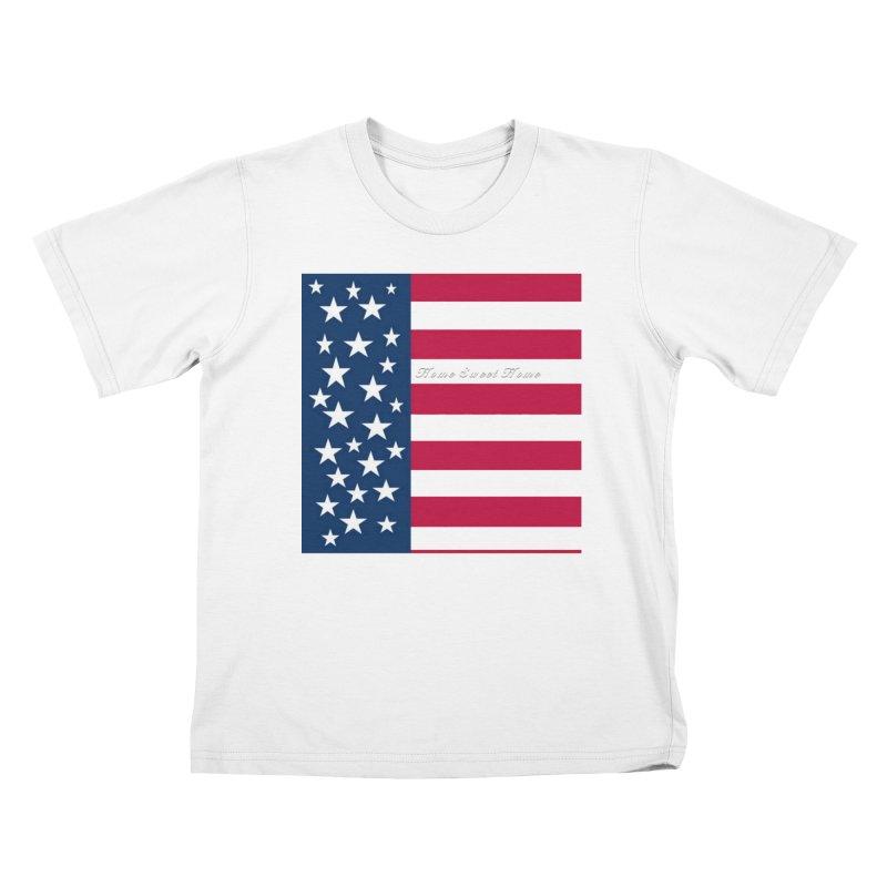 Home Sweet Home Kids T-Shirt by Lady Ls Designs Artist Shop