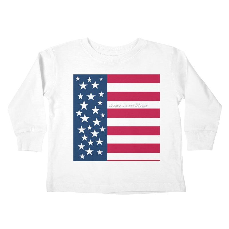 Home Sweet Home Kids Toddler Longsleeve T-Shirt by Lady Ls Designs Artist Shop