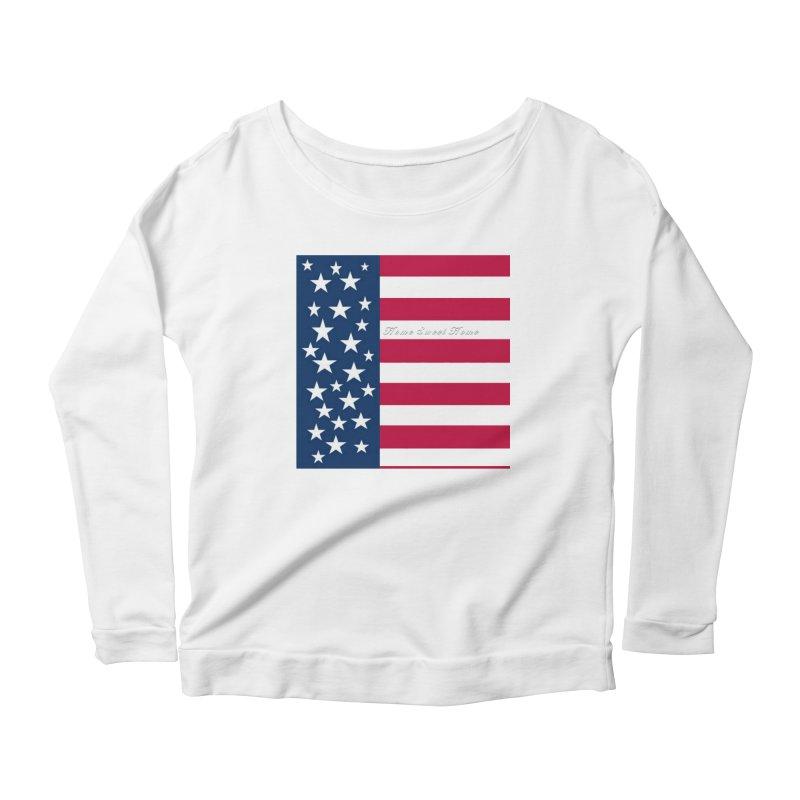 Home Sweet Home Women's Longsleeve T-Shirt by Lady Ls Designs Artist Shop