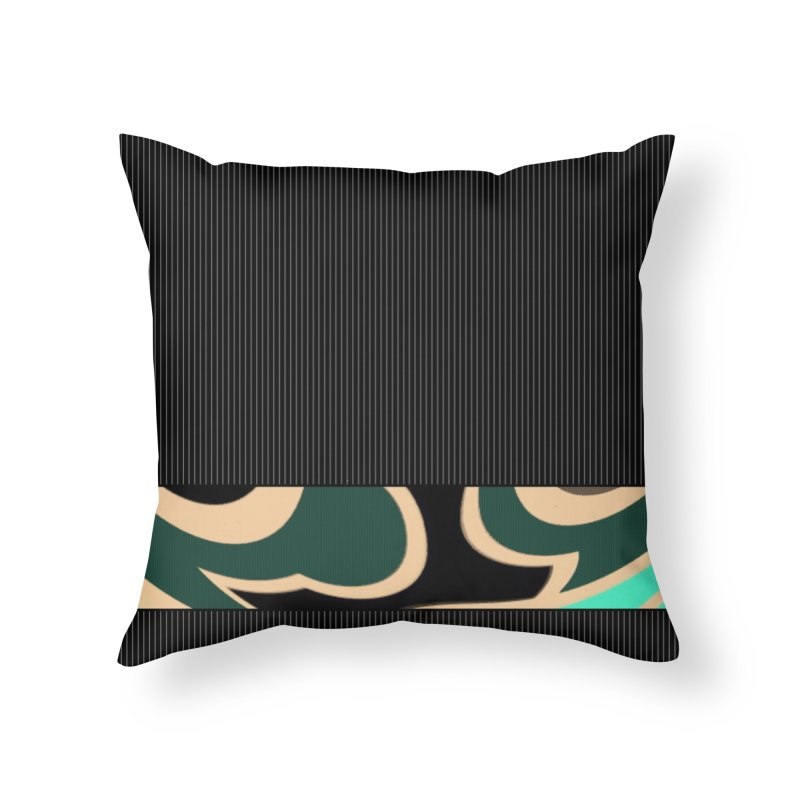 Troubled Home Throw Pillow by Lady Ls Designs Artist Shop