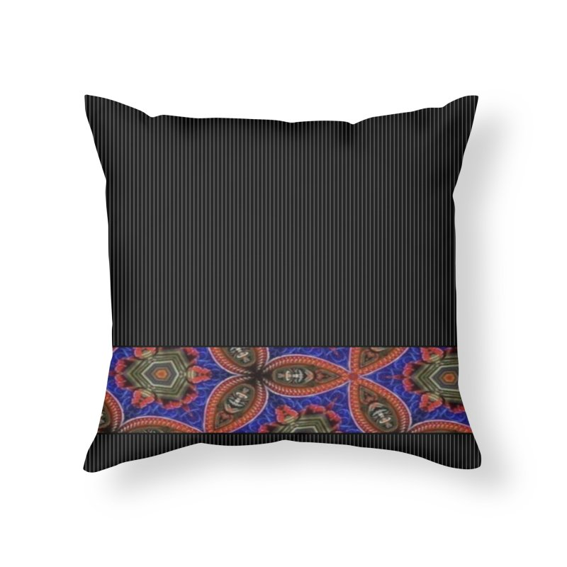 Wowww Flower Home Throw Pillow by Lady Ls Designs Artist Shop