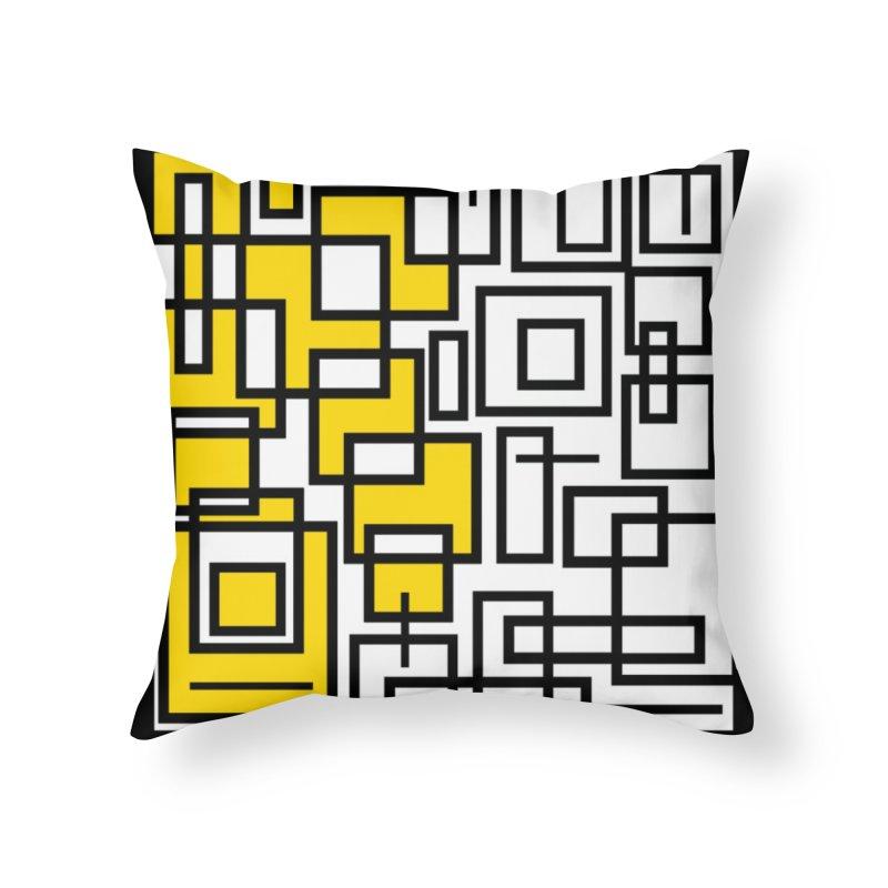 Half A Mind Home Throw Pillow by Lady Ls Designs Artist Shop