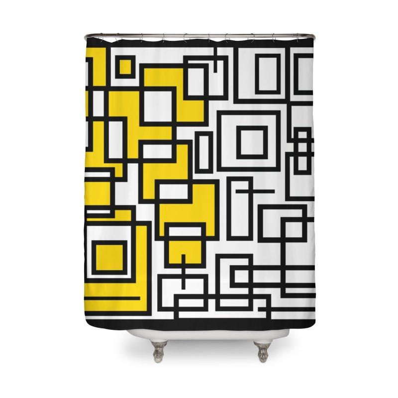 Half A Mind Home Shower Curtain by Lady Ls Designs Artist Shop