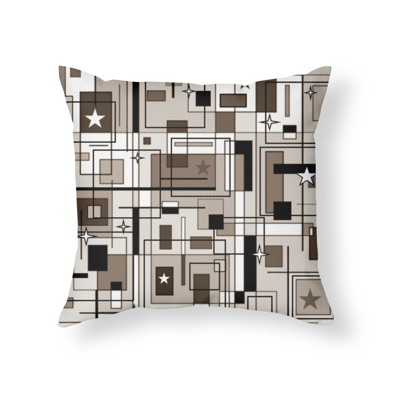 Squarer Home Throw Pillow by Lady Ls Designs Artist Shop