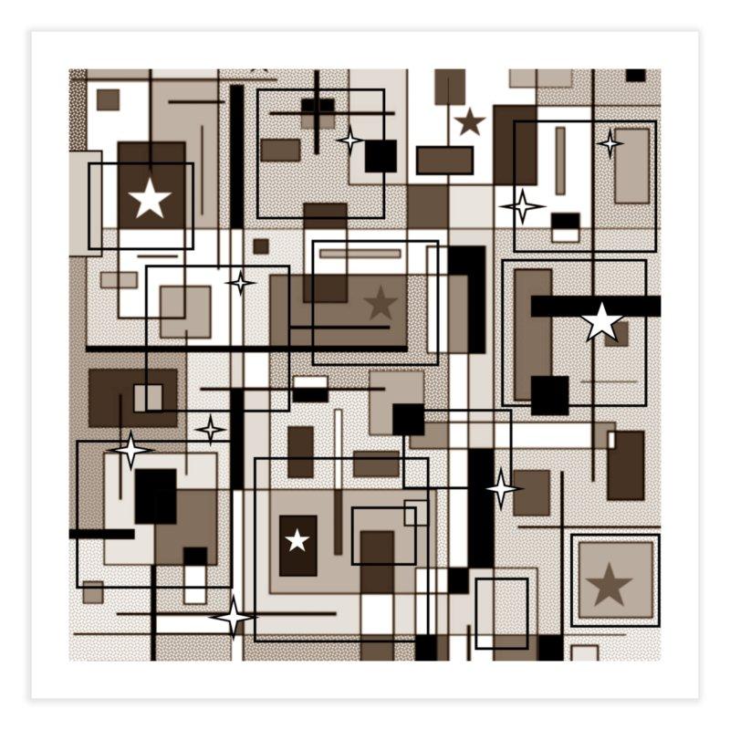 Squarer Home Fine Art Print by Lady Ls Designs Artist Shop