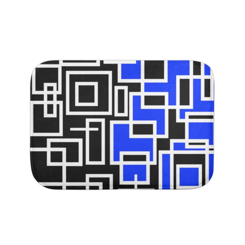 The Other Half Home Bath Mat by Lady Ls Designs Artist Shop