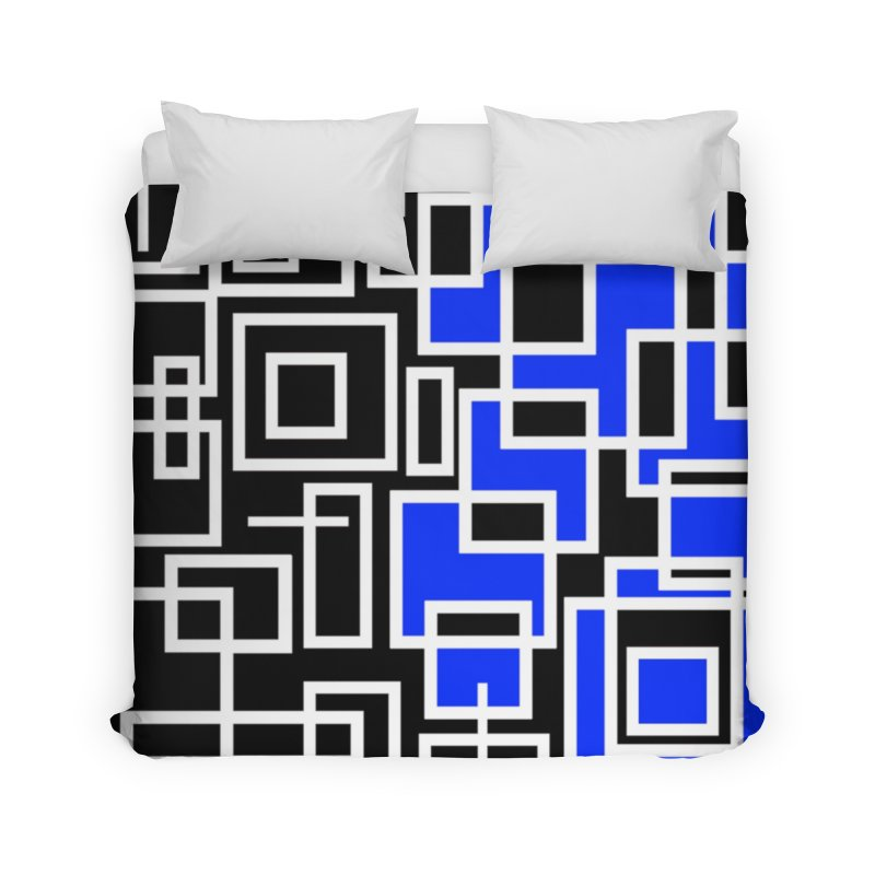 The Other Half Home Duvet by Lady Ls Designs Artist Shop