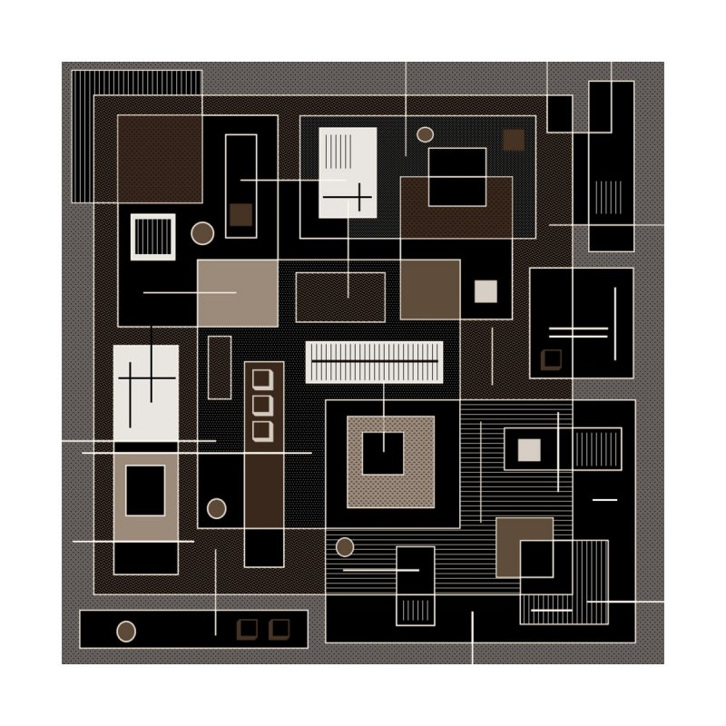 All Square Home Rug by Lady Ls Designs Artist Shop