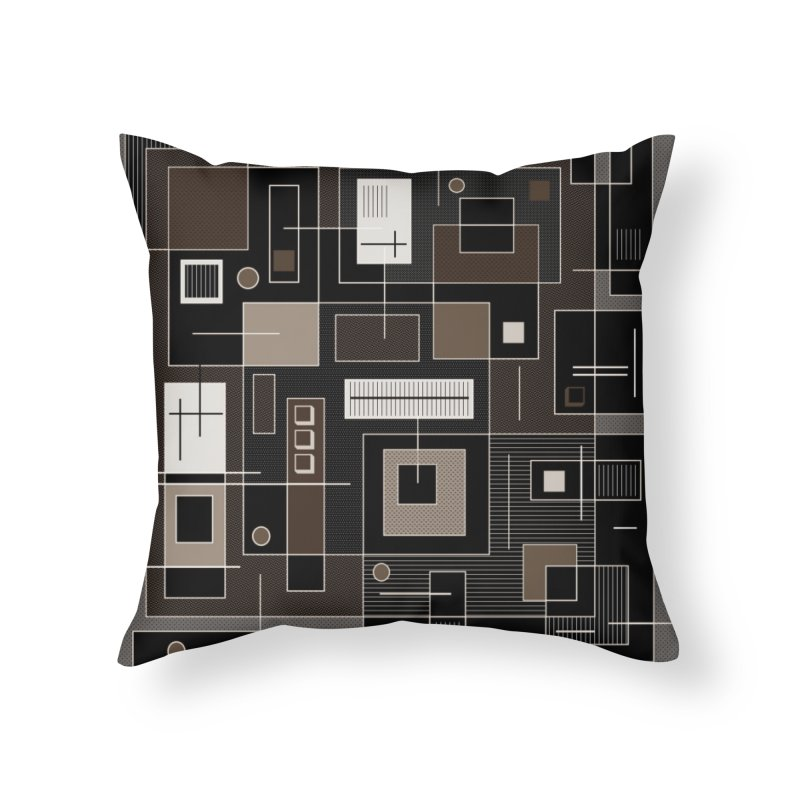 All Square Home Throw Pillow by Lady Ls Designs Artist Shop