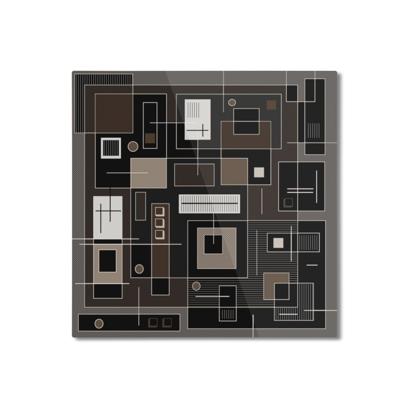All Square Home Mounted Aluminum Print by Lady Ls Designs Artist Shop