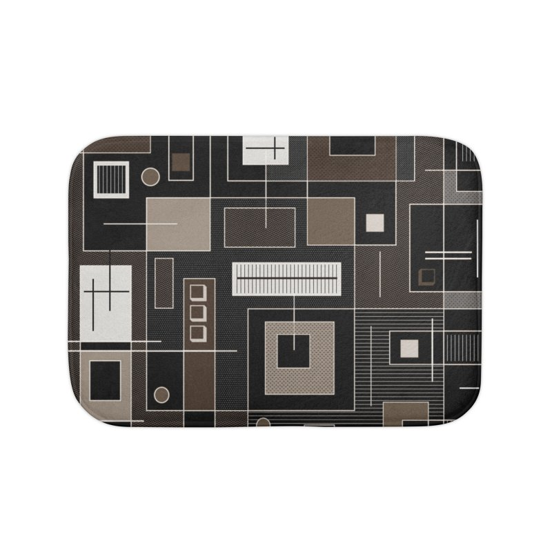 All Square Home Bath Mat by Lady Ls Designs Artist Shop