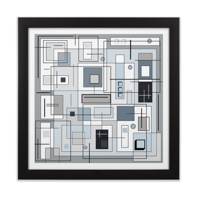 Extra Square Home Framed Fine Art Print by Lady Ls Designs Artist Shop