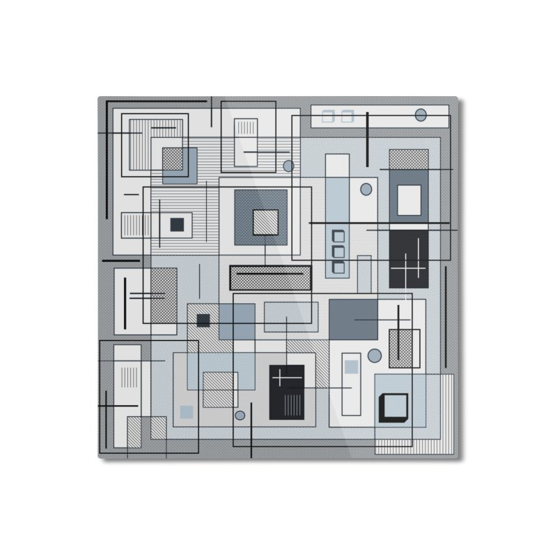 Extra Square Home Mounted Aluminum Print by Lady Ls Designs Artist Shop